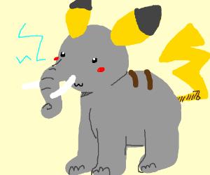 Elephant Pikachu