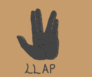 live long and prosper hand sign
