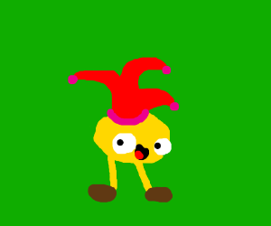 Jester pacman with legs