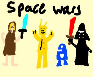 star wars rip-off