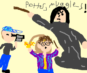 Potter! You Filmed our World to the Muggles!!
