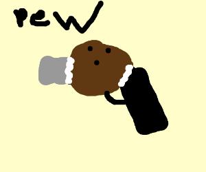 HIS COCONUT GUN