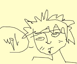 Naruto looks sick!
