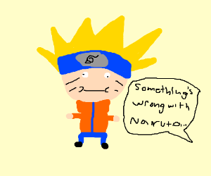Something is wrong with Naruto