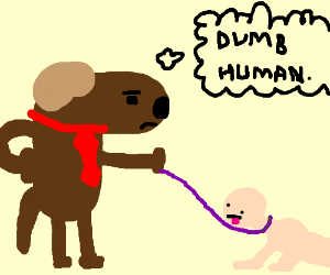 A parallel universe where dogs enslave you
