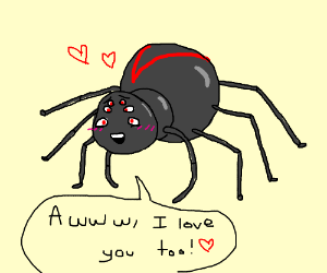 The spiders love you too!