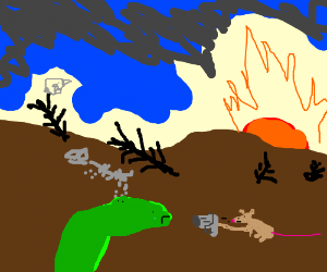 Dinosaur... IN THE FUTURE.