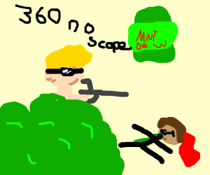Mlg Sniper Mode Drawing By Derpdrawer