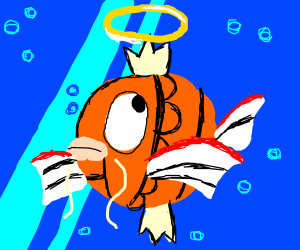Magikarp is the savior of the universe