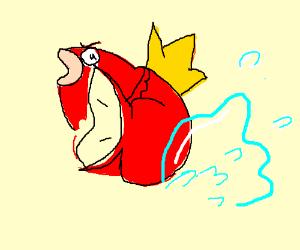 There's no escape, Magikarp will splash you.