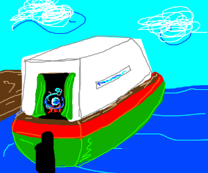 A Fortune teller's boat