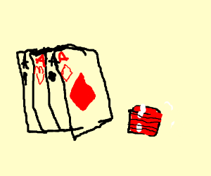 A poker.