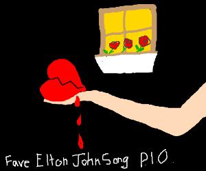 Fave Elton John Song PIO
