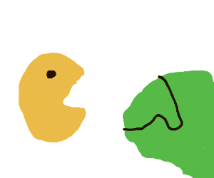Pac-Man attacks Columbia