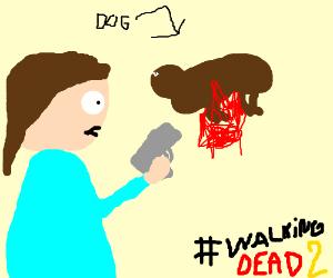 killing a dog