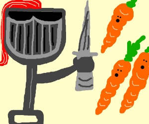 Shovel Knight VS Carrots