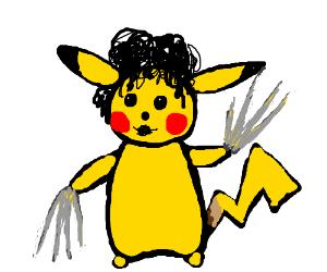 Pikachu Scissor-hands