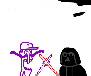 Waluigi vs Darth Vader