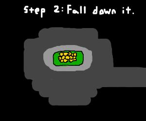 Step 1: Locate the nearest mountain