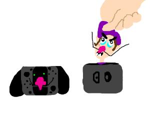 Waluigi time presentation. Nintendo switch too bad