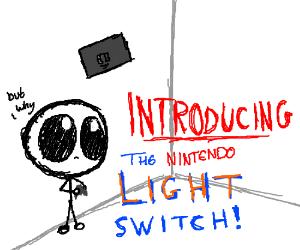 THE NINTENDO LIGHT SWITCH