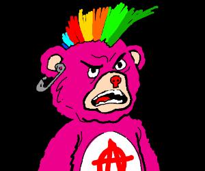 Punk Care Bear