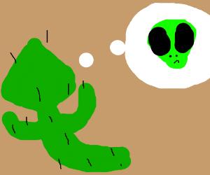cactus dreams of aliens