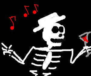 Skelly dancing
