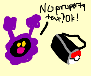 Nebby realizes the benefits of getting in bag