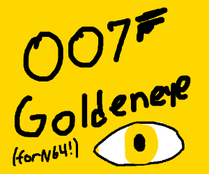 Most overrated N64 game (its an FPS with Bond)