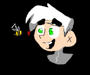 Danny Phantom loves bees.