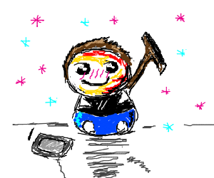 Anime Death by Squeegee