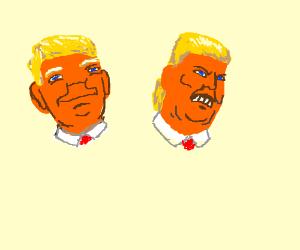 Multi personality Trump