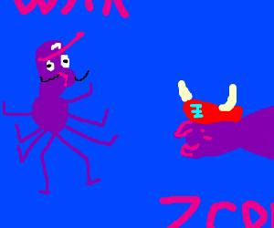 Wabugigi vs. Grandpa Viking Beetle