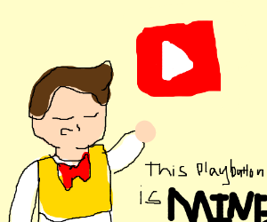 Stingy owns the YouTube play button