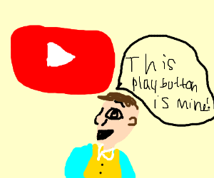 """Stingy: """"This play button is MINE"""""""
