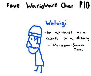 Fav WarioWare char PIO