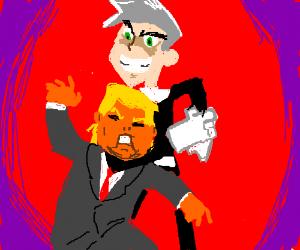 Danny Phantom assassinates the president.