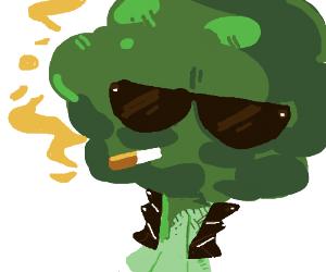 Cool as a broccoli.