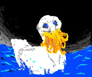 Cthulhu duck