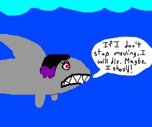 angsty shark