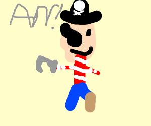 World's worst pirate