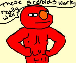 Elmo on steroids