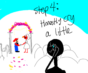 Step 3: Watch Mario&Elmo marrying each other