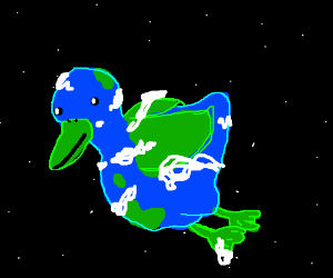 planet is a duck