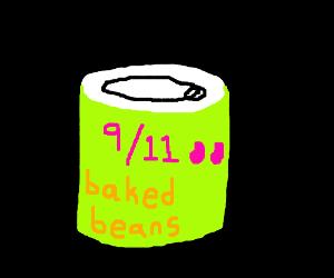Bush the Baked Bean Can