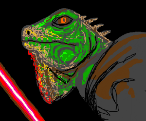 Force sensitive Iguana