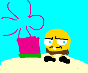 A parallel universe of Spongebob