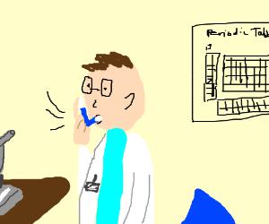 Asthmatic scientist