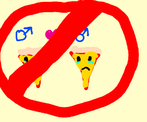 Gay Pizza Prohibited